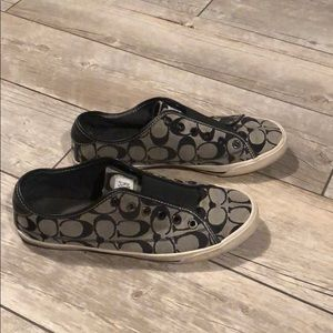 Coach Kira Slip On/No Lace Tennis Shoes Sz 8.5